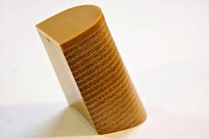 Каблук женский пластиковый 8504 Бежевый р.1-4  h-7,9-8,9 см., фото 3