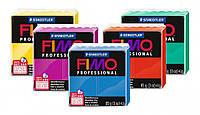 Полимерная глина Fimo Professional, пластика, 85 г, Красный