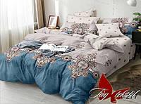 Комплект постельного белья двуспальный в разных цветах
