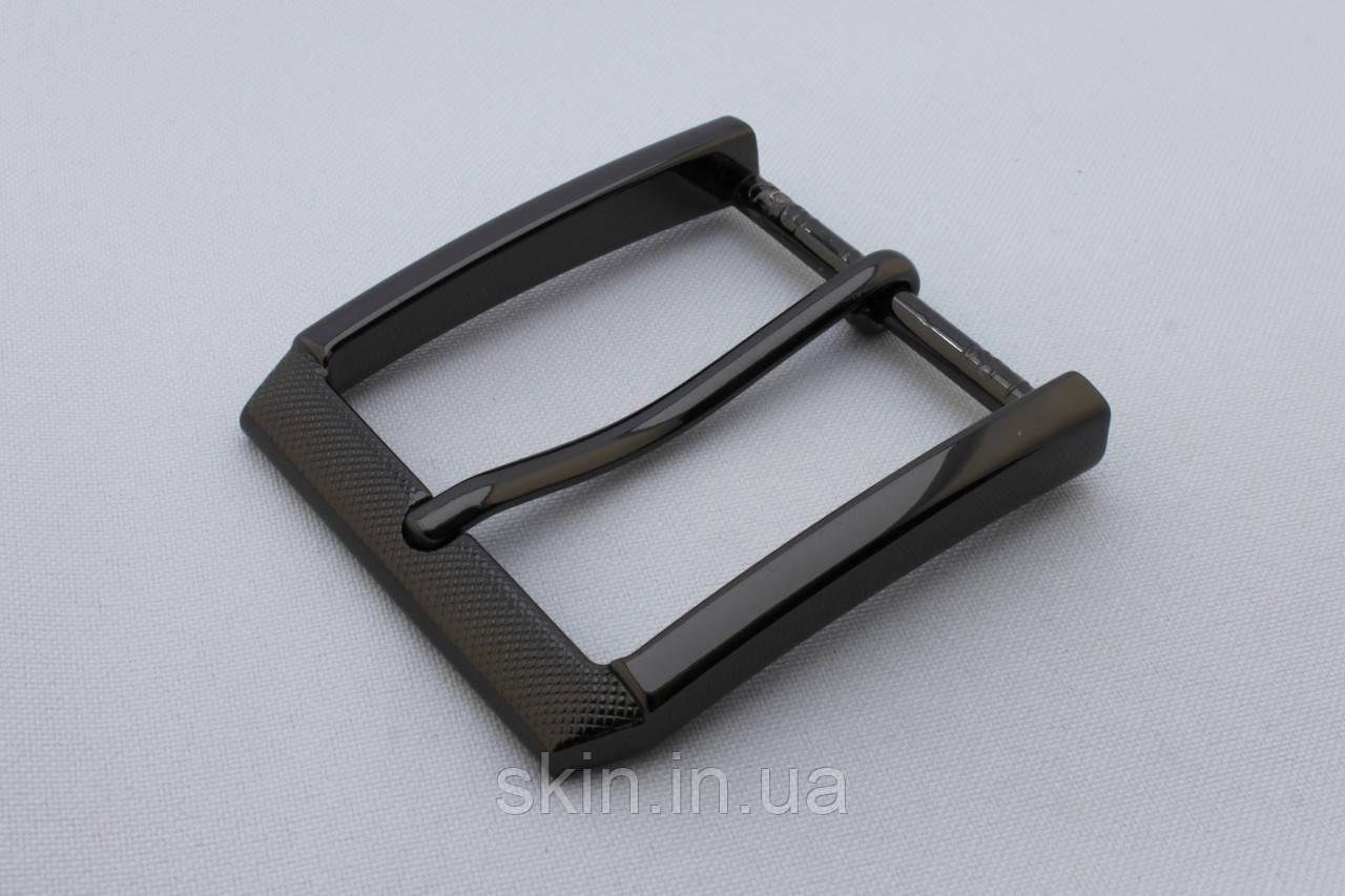 Пряжка ременная, ширина - 40 мм, цвет - черный, артикул СК 5507