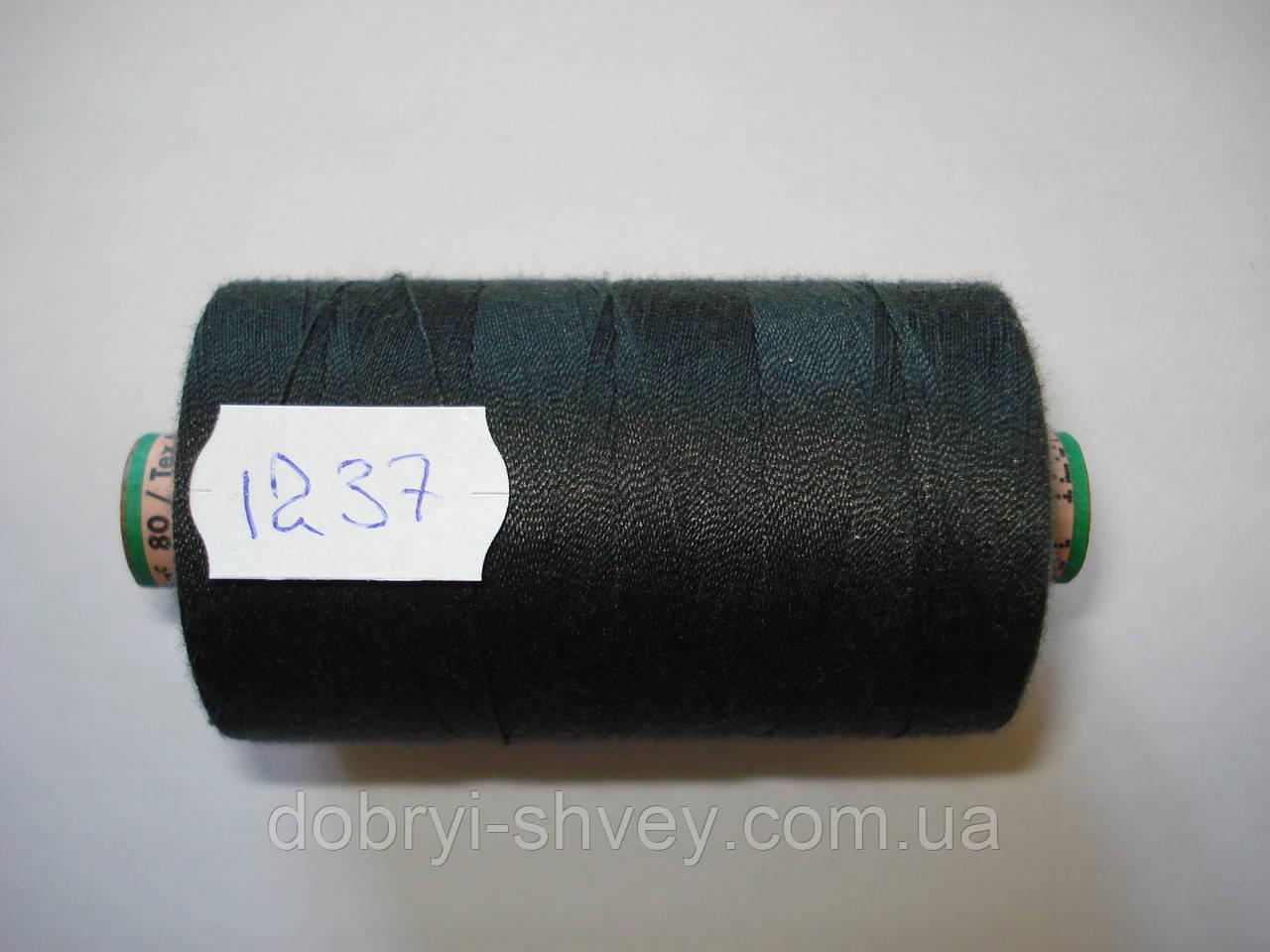 Нитка AMANN Saba c №80 1000м.col 1237 т.серый (шт.)