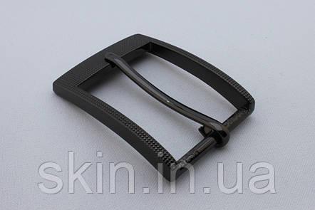 Пряжка ременная, ширина - 35 мм, цвет - черный, артикул СК 5511, фото 2