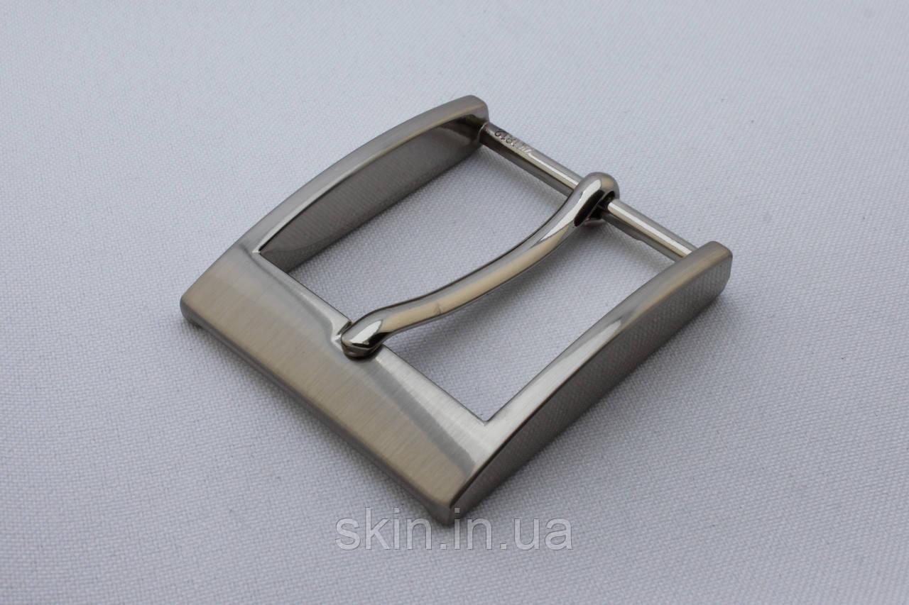 Пряжка ременная, ширина - 35 мм, цвет - никель, артикул СК 5513