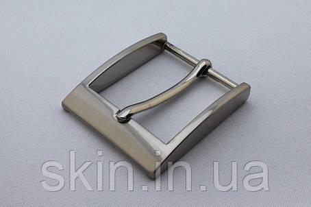 Пряжка ременная, ширина - 35 мм, цвет - никель, артикул СК 5513, фото 2