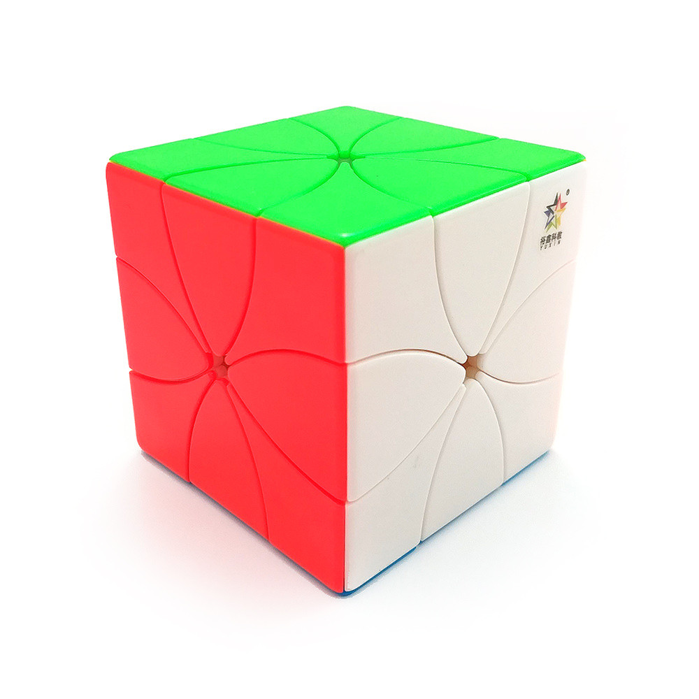 Кубик Рубіка Eight petals cube (magnetic) без етикеток (Yuxin)
