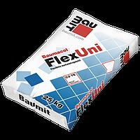 Клеевая смесь эластичная Baumit FlexUni класс C2TE (25 кг)