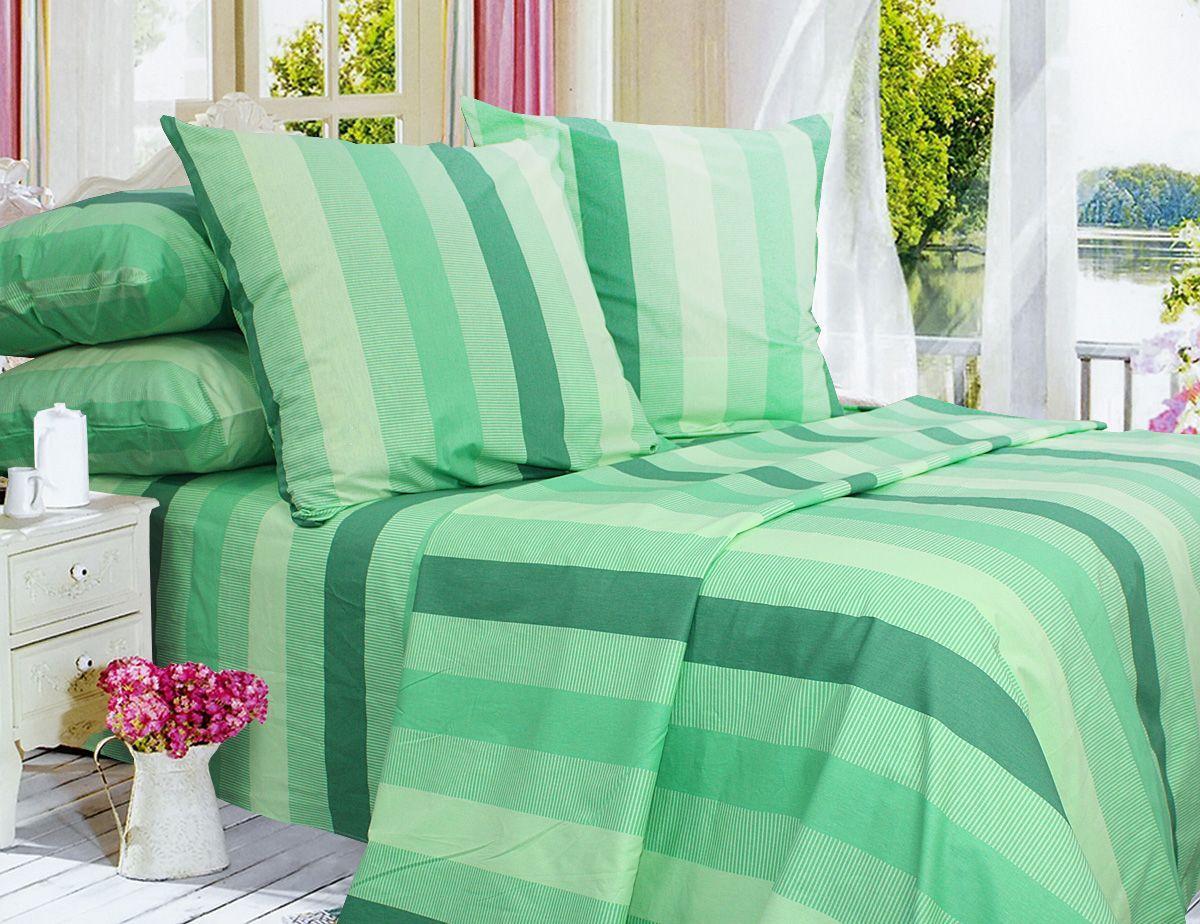 Комплект постельного белья Двуспальный, Поплин (2-х сп.ЕПП0003)