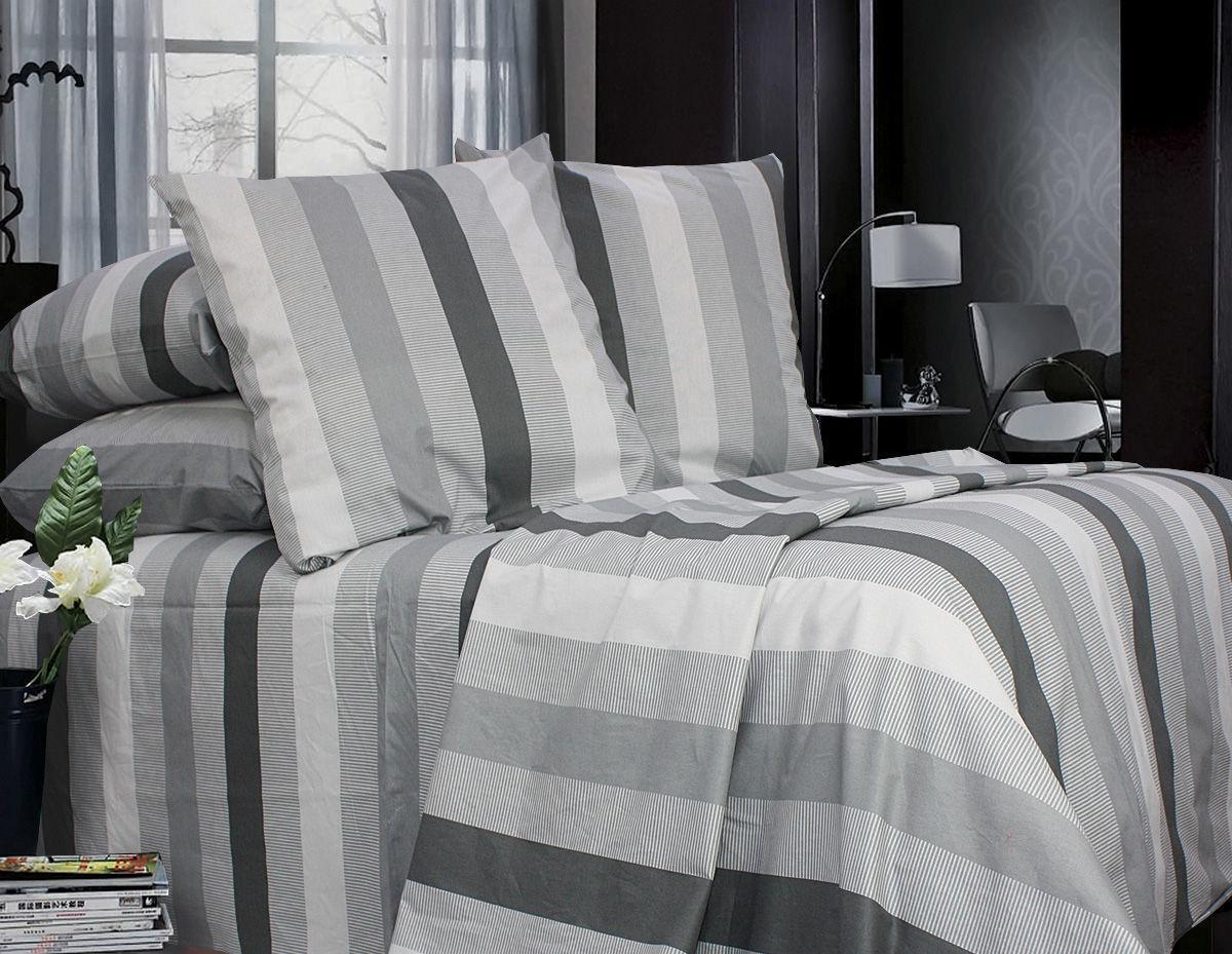 Комплект постельного белья Двуспальный, Поплин (2-х сп.ЕПП0011)