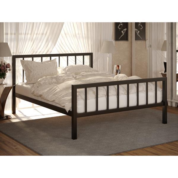 Кровать  Турин 2. Метакам. Металлическая кровать.