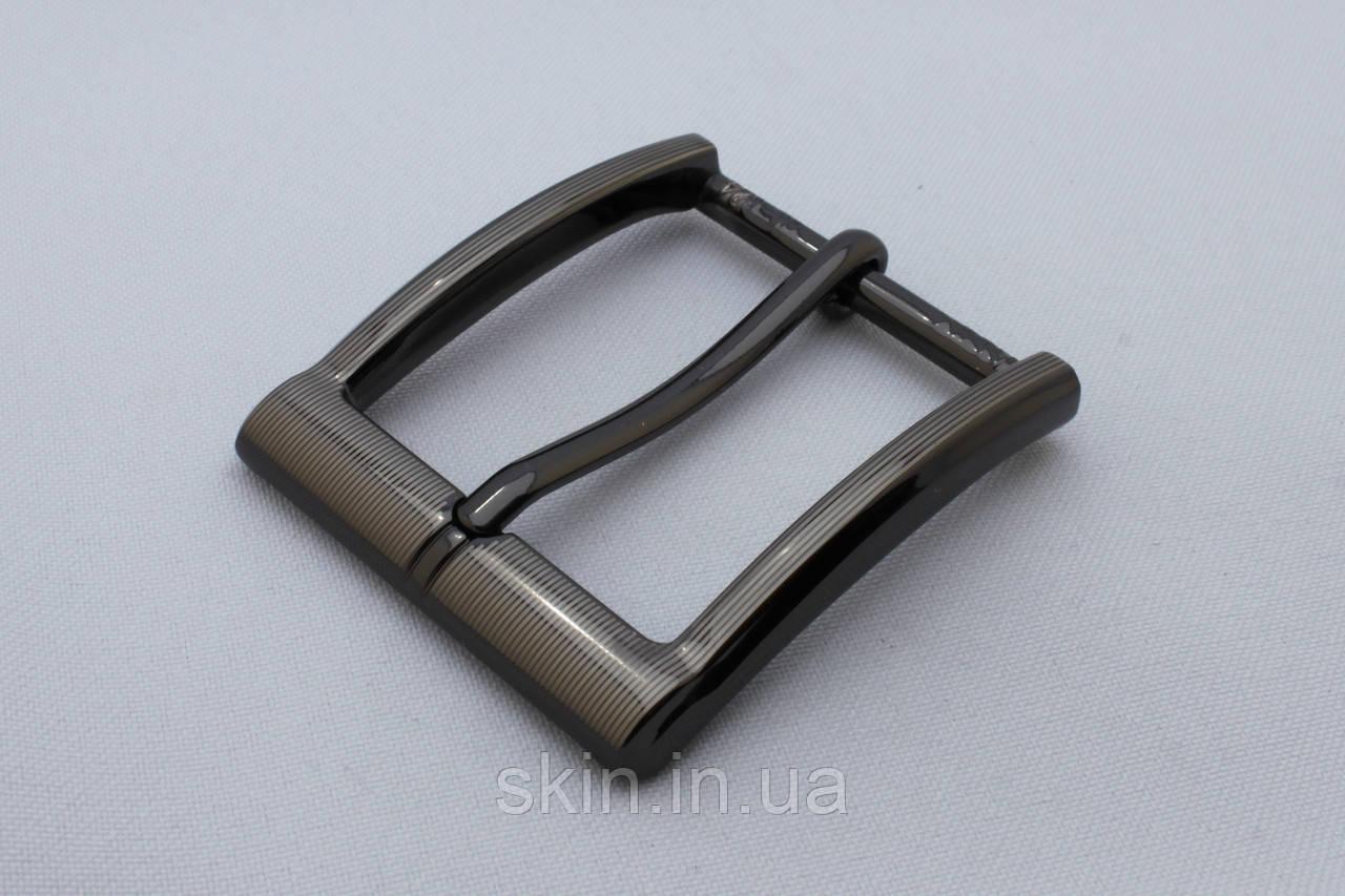 Пряжка ременная, ширина - 35 мм, цвет - сатен, артикул СК 5518