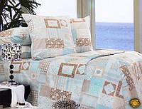 Комплект постельного белья Двуспальный, Бязь-100% хлопок (2-х сп.ЕТ0490)
