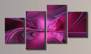 Модульная картина Абстракция-5 56х103 см (HAF-049)