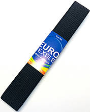 Гумка для одягу EuroTextile ( 30mm/5m) чорна, тасьма еластична