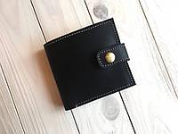 Кошелек ручной работы из кожи Goose™ G0035 черный, фото 1