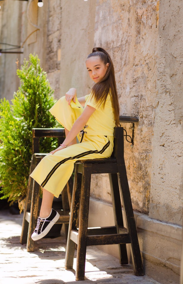 Костюм LiLove 525-1 146 желтый