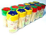 Зубочистки деревянные Бантик 150ед., 12штук в упаковке, фото 2