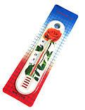 Термометр кімнатний Квітка, Китай, фото 3