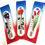 Термометр кімнатний Квітка, Китай, фото 4