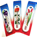 Термометр комнатный Цветок, Китай, фото 4