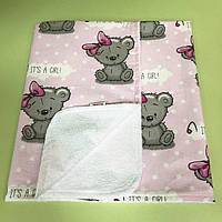 Непромокаемая пеленка 60*85, мишки
