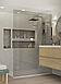 Стеклянная перегородка в ванную комнату Coral, фото 2