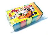 Губки для посуды Миди (5шт./уп.), фото 2