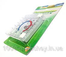 Термометр оконный Квадрат на липучках (75mm*75mm)
