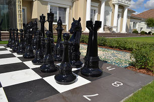 Шахматы из стеклопластика