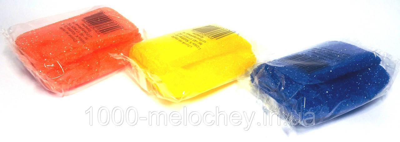 Губка банная Гномик с карманом для мыла (110mm*75mm), Польша, мочалки