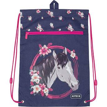 Сумка для обуви с карманом Kite Beautiful horse K19-601M-11