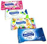 Влажные салфетки Super Fresh 15 штук в ассортименте, фото 5