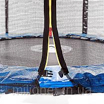 Батут Atleto 252 см с сеткой , фото 3
