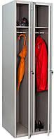 Шкаф металлический для одежды LS-21
