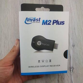 Приставка Smart-stick HDMI бездротовий медіаплеєр AnyCast M2 Plus