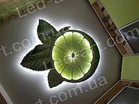 Светодиодный светильник контражурный 1100 х 950 мм  38 Вт LED-ART- 38