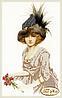 Дама в меховой шляпке