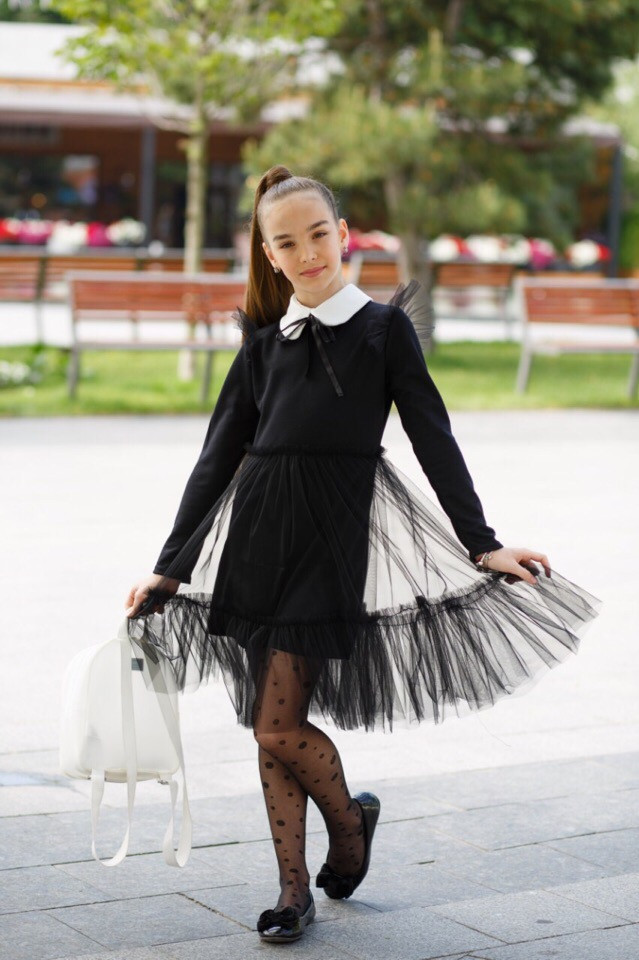 Платье LiLove 527-1 140 черный