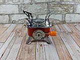 Портативная газовая горелка туристическая MA-100 ( газовая конфорка переносная ), фото 4