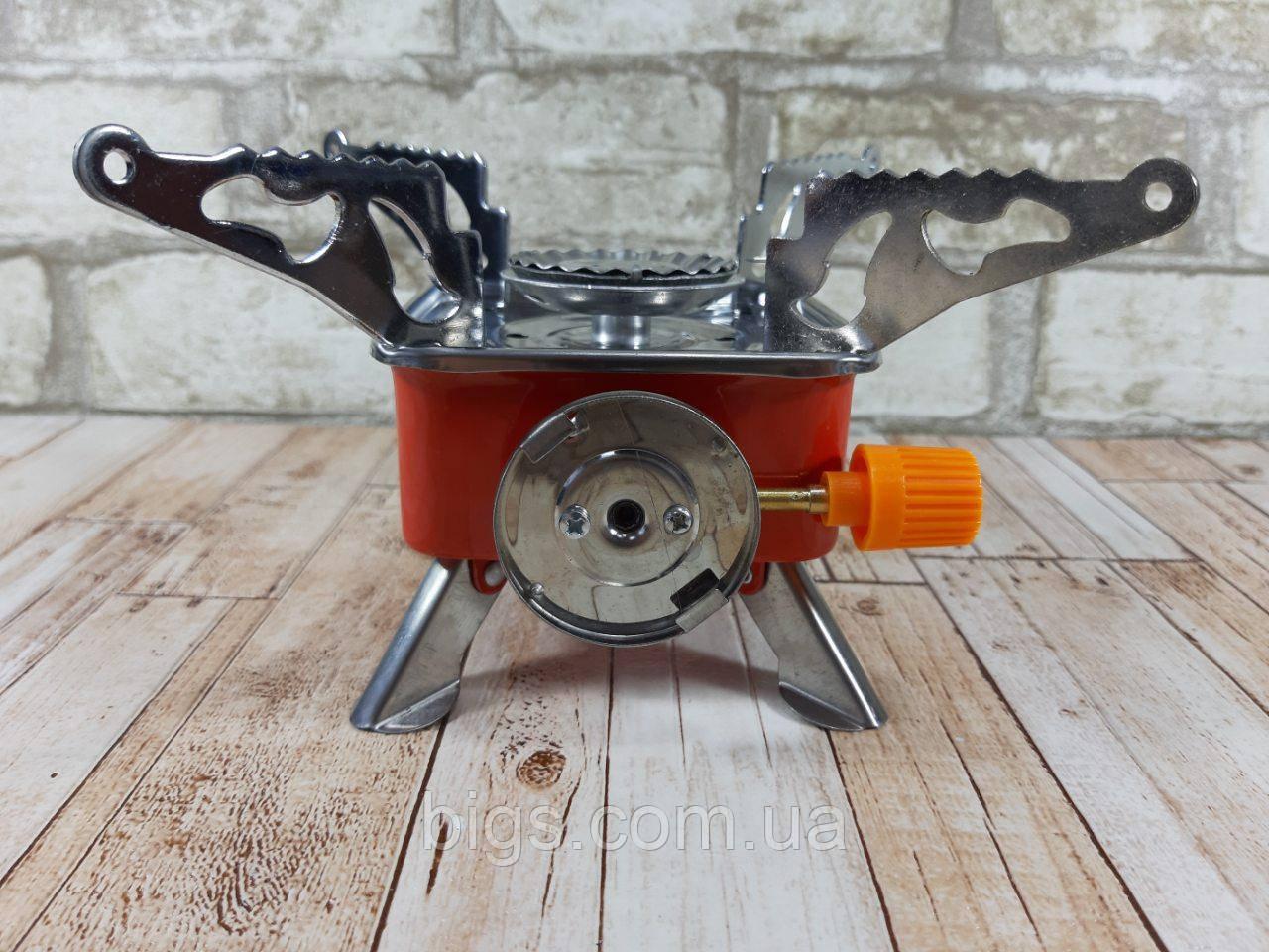 Портативная газовая горелка туристическая MA-100 ( газовая конфорка переносная )