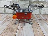 Портативная газовая горелка туристическая MA-100 ( газовая конфорка переносная ), фото 3