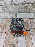 Портативная газовая горелка туристическая MA-100 ( газовая конфорка переносная ), фото 8
