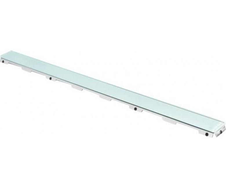 Стеклянная панель TECE drainline прямая