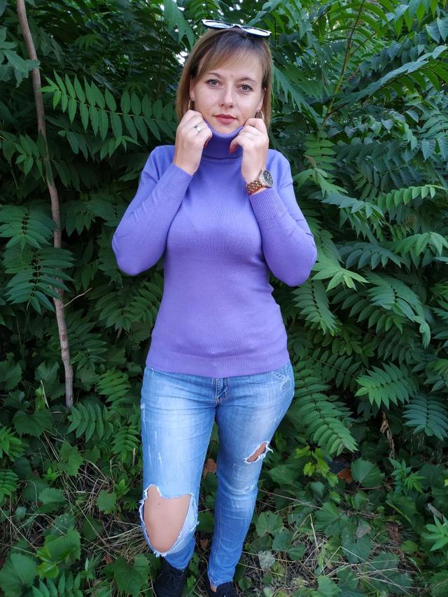 фото женская водолазка