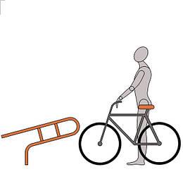 Оригинальные велопарковки