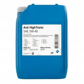 Моторное масло Aral HighTronic SAE 5W-40 (20л.) 20633, фото 2