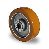 Колесо 100x40 алюминий/полиуретан, ступица 40 мм, нагрузка 250 кг