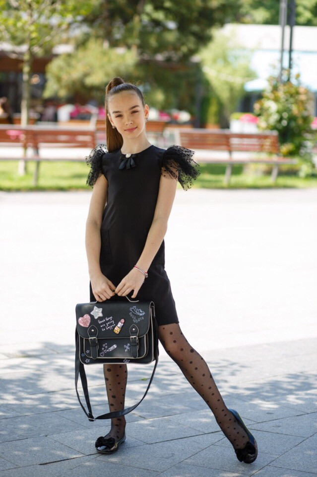 Платье LiLove 526-1 134 черный