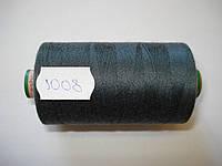 Нитка TRIGAN №80 1000м.col 1008 т.синий (шт.)