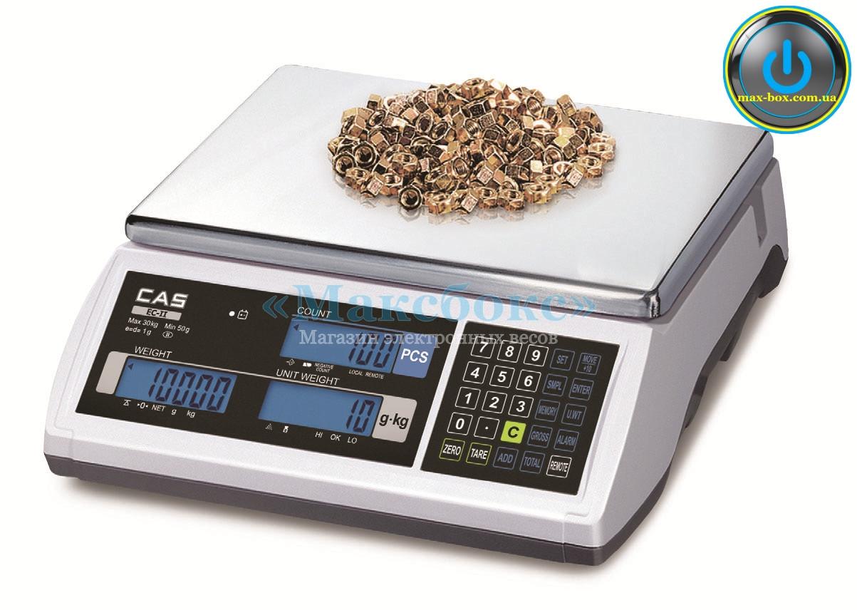 Счетные электронные весы до 30 кг CAS EC