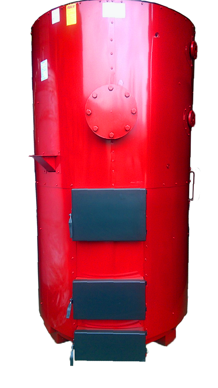 Парогенератор САН на твердому паливі потужністю 700/1000 кВт/кг